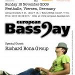European BassDay Poster 2009