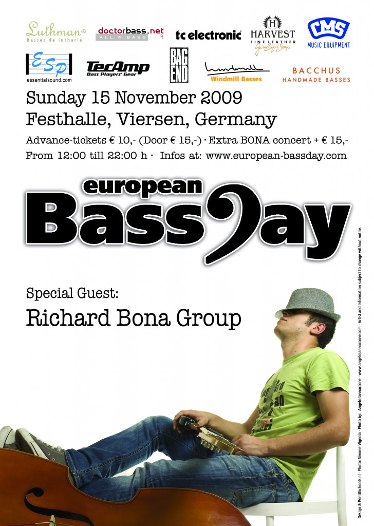 European BassDay Poster 2009
