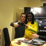 European Bassday 2009 - Simone with Richard Bona