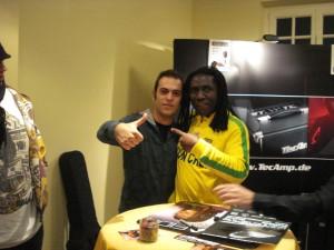 European Bassday 2009 - Simone with Richard Bona