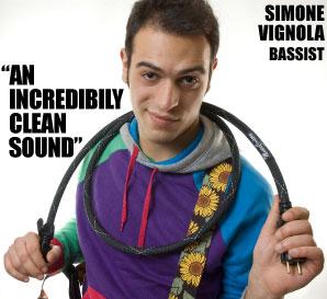 Simone Vignola and the MusicCord-PRO