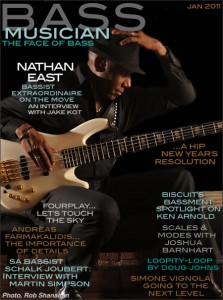 01-2011 - Simone Vignola Interview on Bass Musician Magazine