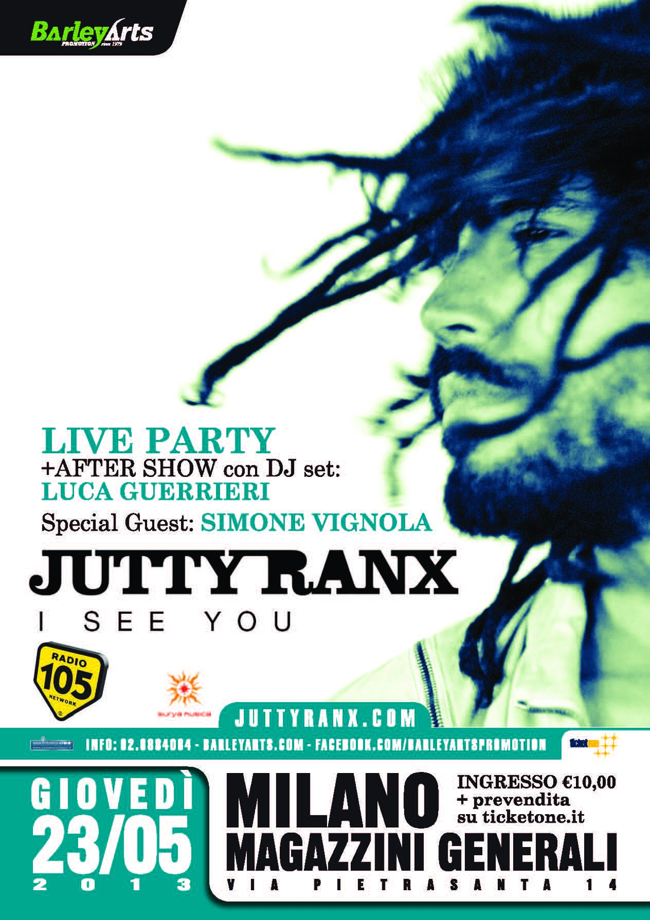 JUTTY RANX - Opening act Simone Vignola