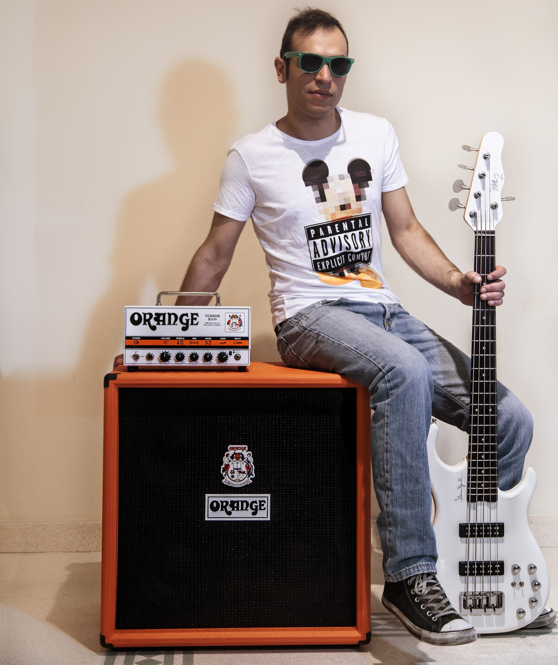 SIMONE VIGNOLA ORANGE Terror Bass 1000 + OCB 410